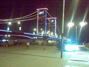 Jembatan sungai Musi