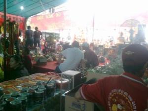Suasana Pasar Lelang