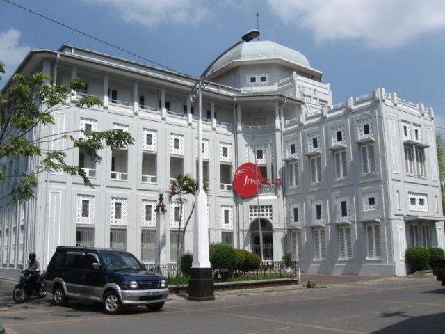 Bangunan Kota Lama Yang Masih terawat